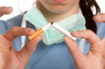 nurse cigarette
